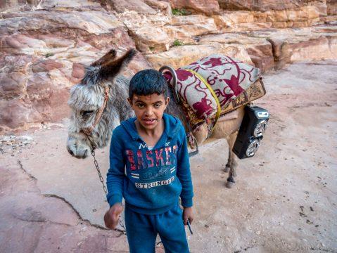 Jordánsky chlapec