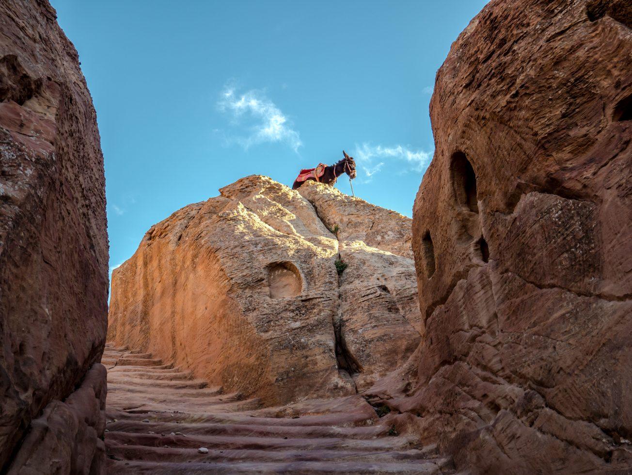 Stará ulička v Jordánsku