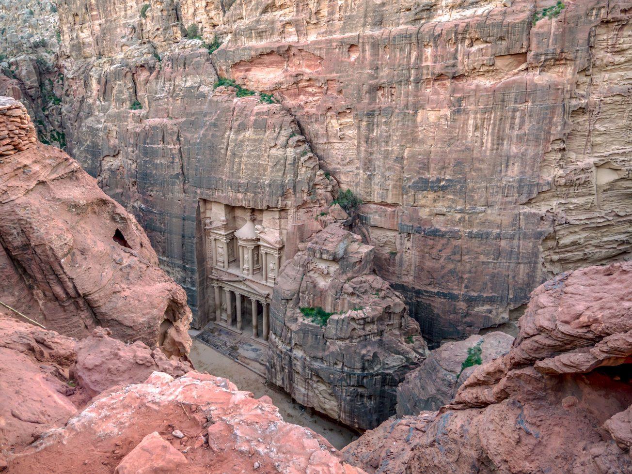 Skalné mesto Petra a jeho poklad