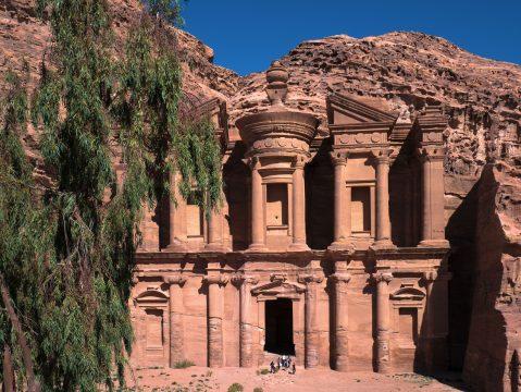 Monastery - Petra, Jordan