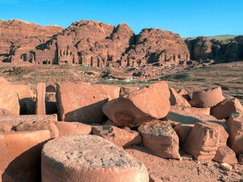 Petra v Jordánsku, pamiatky