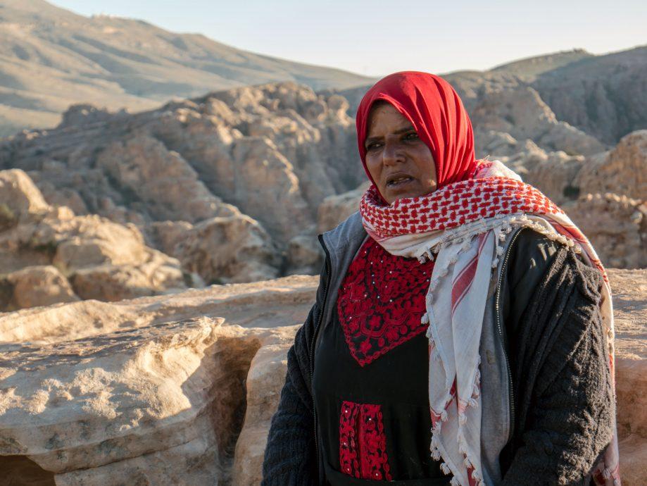Beduínka Jordánsko
