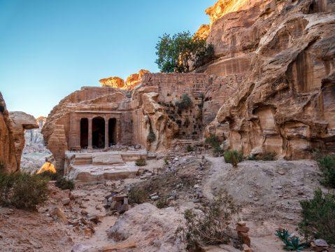 Záhradný chrám vo Wadi al-Farasa, Petra , Jordánsko