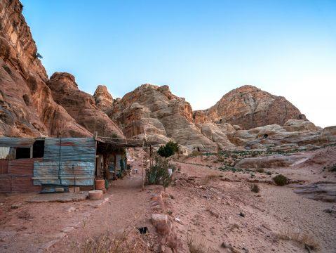 Chatrč v púšti