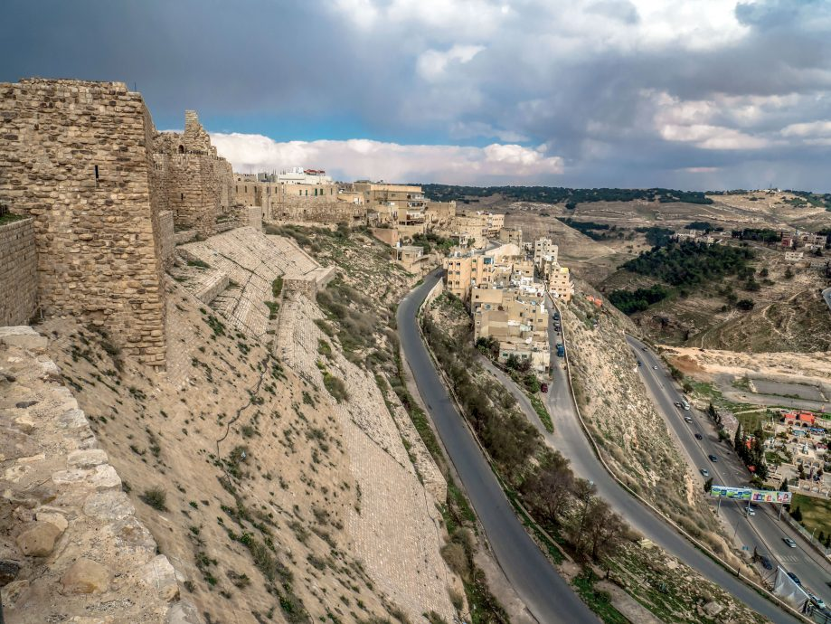 Križiacky hrad Karak