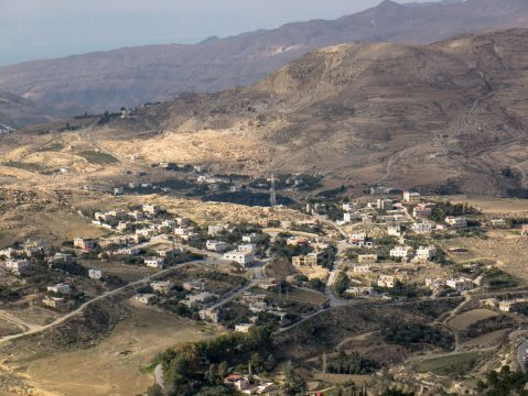 Jordánska dedina