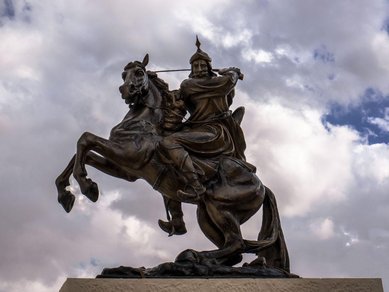 Socha Salah ad-Din (Saladin)