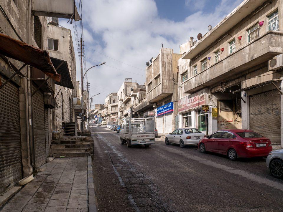 Rušná ulica v Ammáne