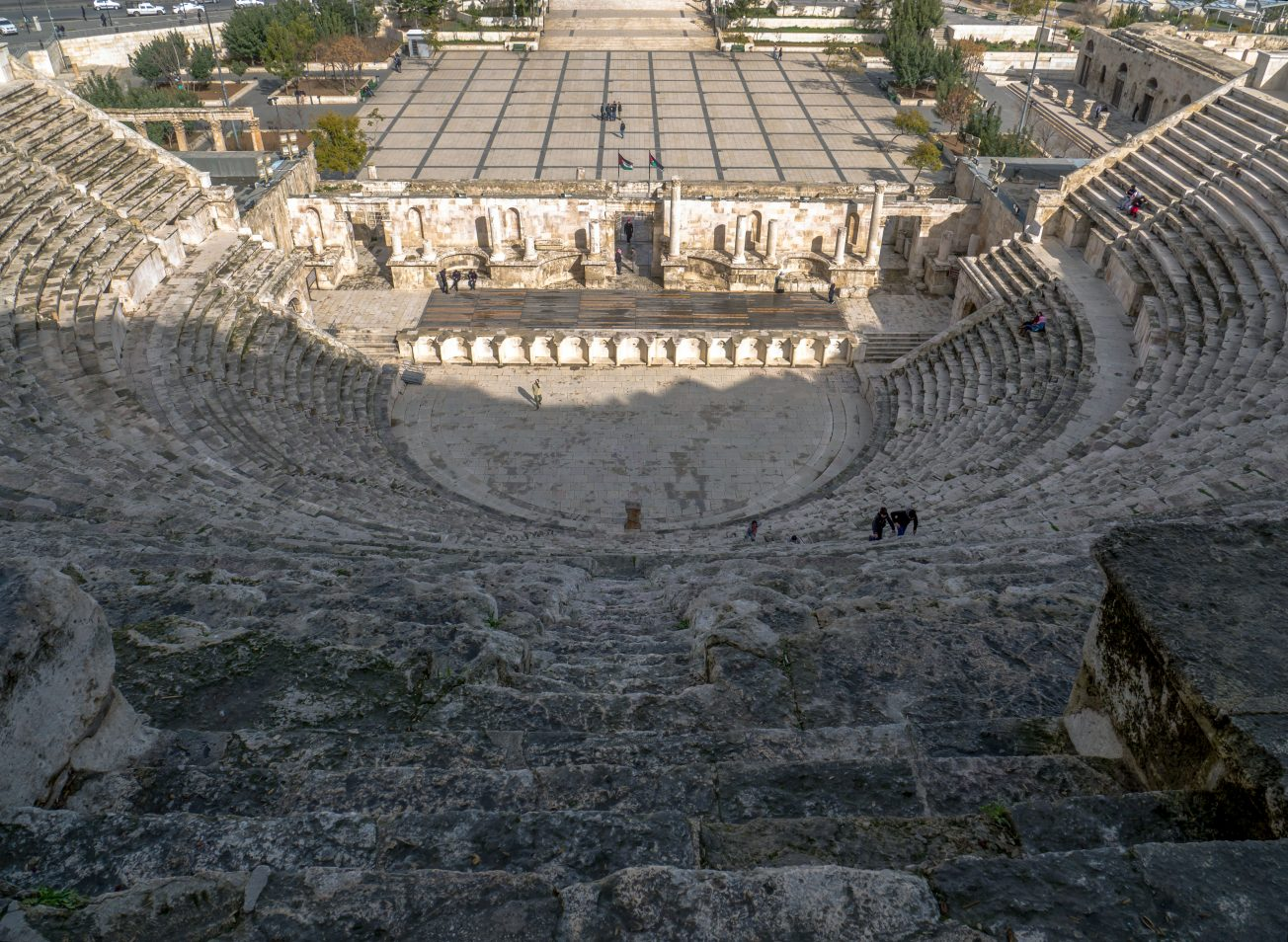 Rímsky amfiteáter v Amáne