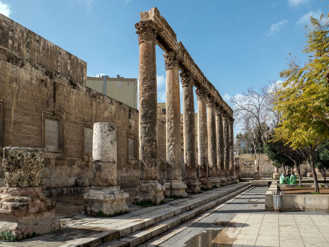 Pamiatky v Amáne