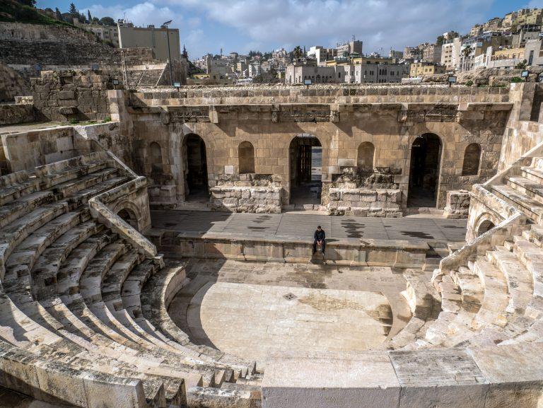 Roman Amphitheater Ammán, Jordánsko