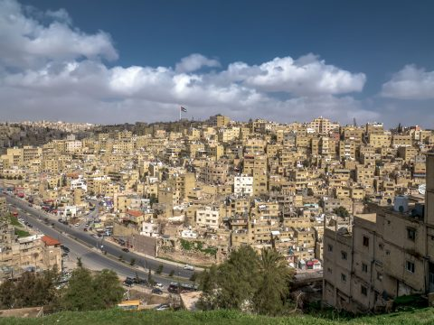 Výhľad na starý Ammán