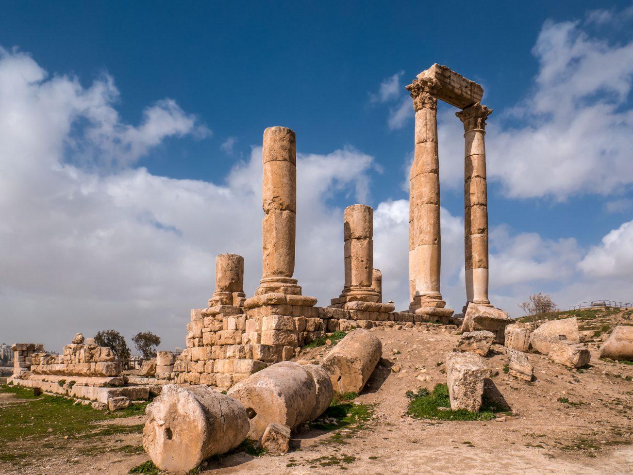 Citadela Amman, Jordánsko