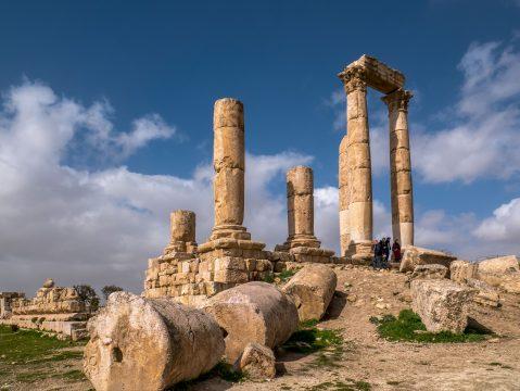 Jordánske mesto Amán a jeho pamiatky