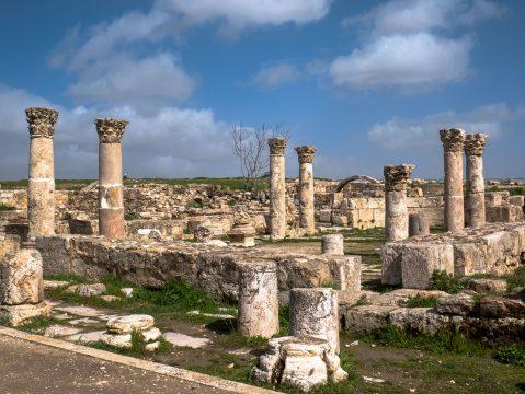 Pozostatky byzantského kostola