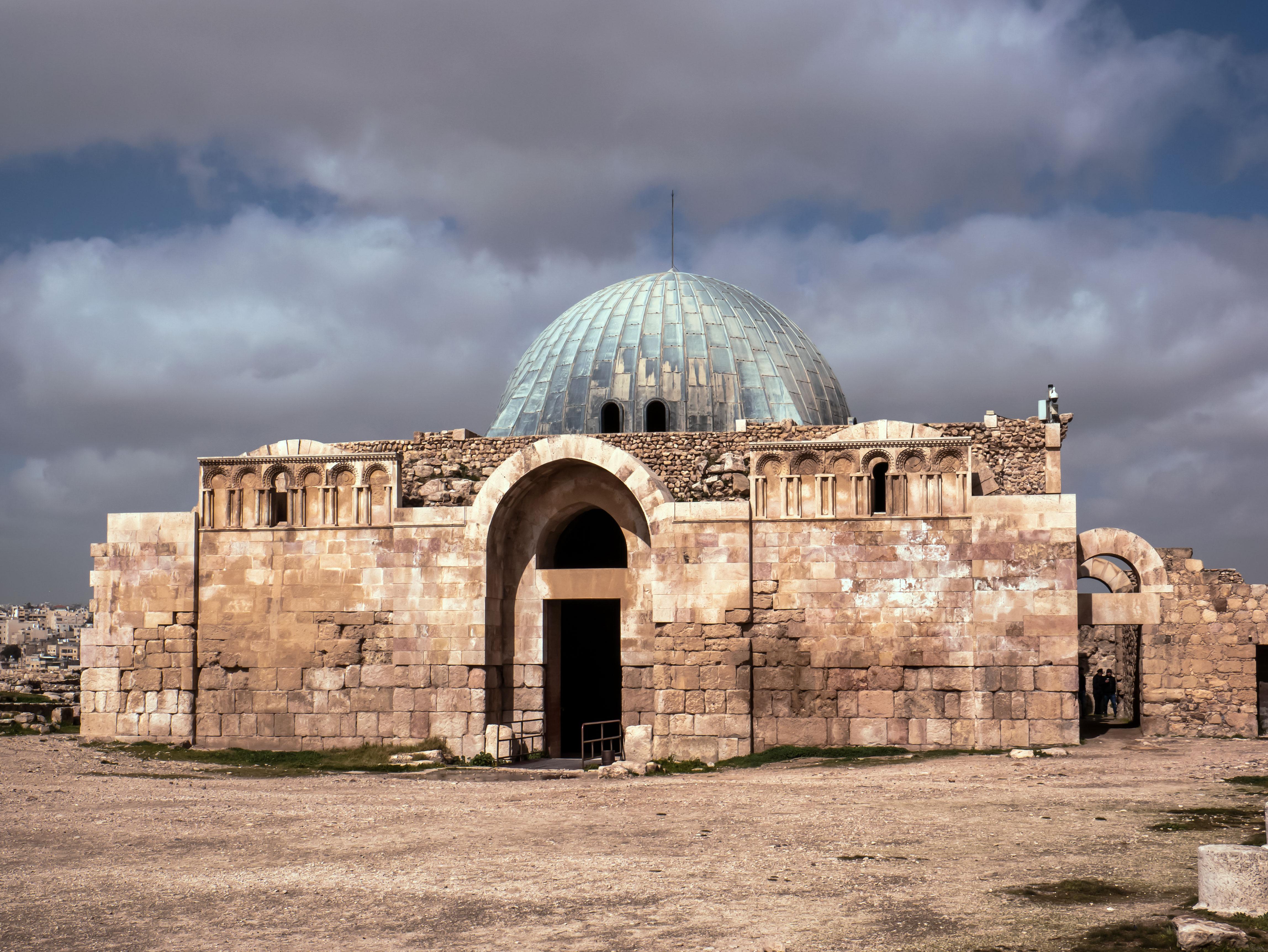Citadela v meste Amán