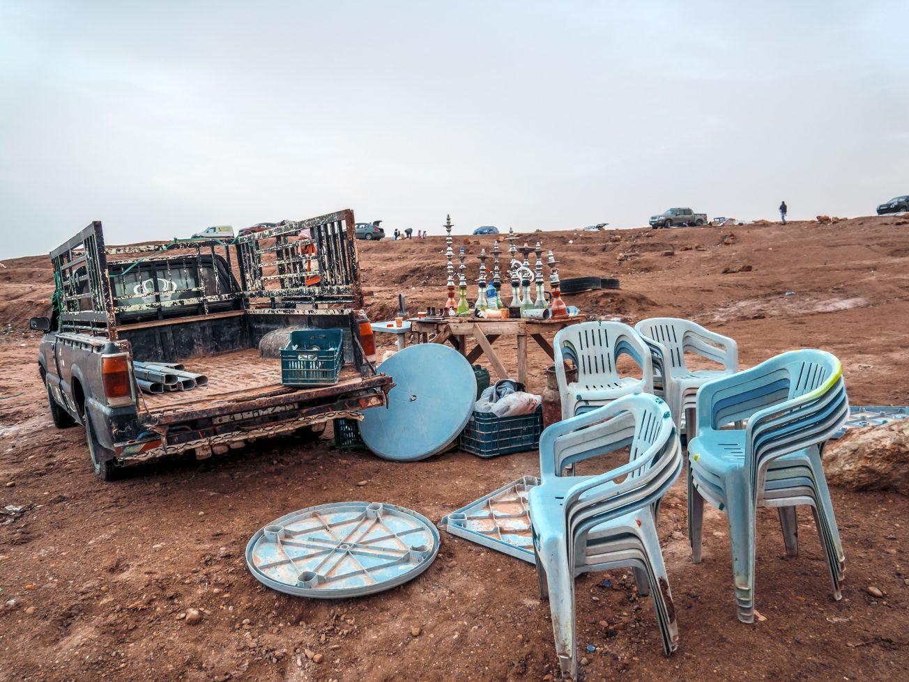 Pláž Mŕtve more Jordánsko