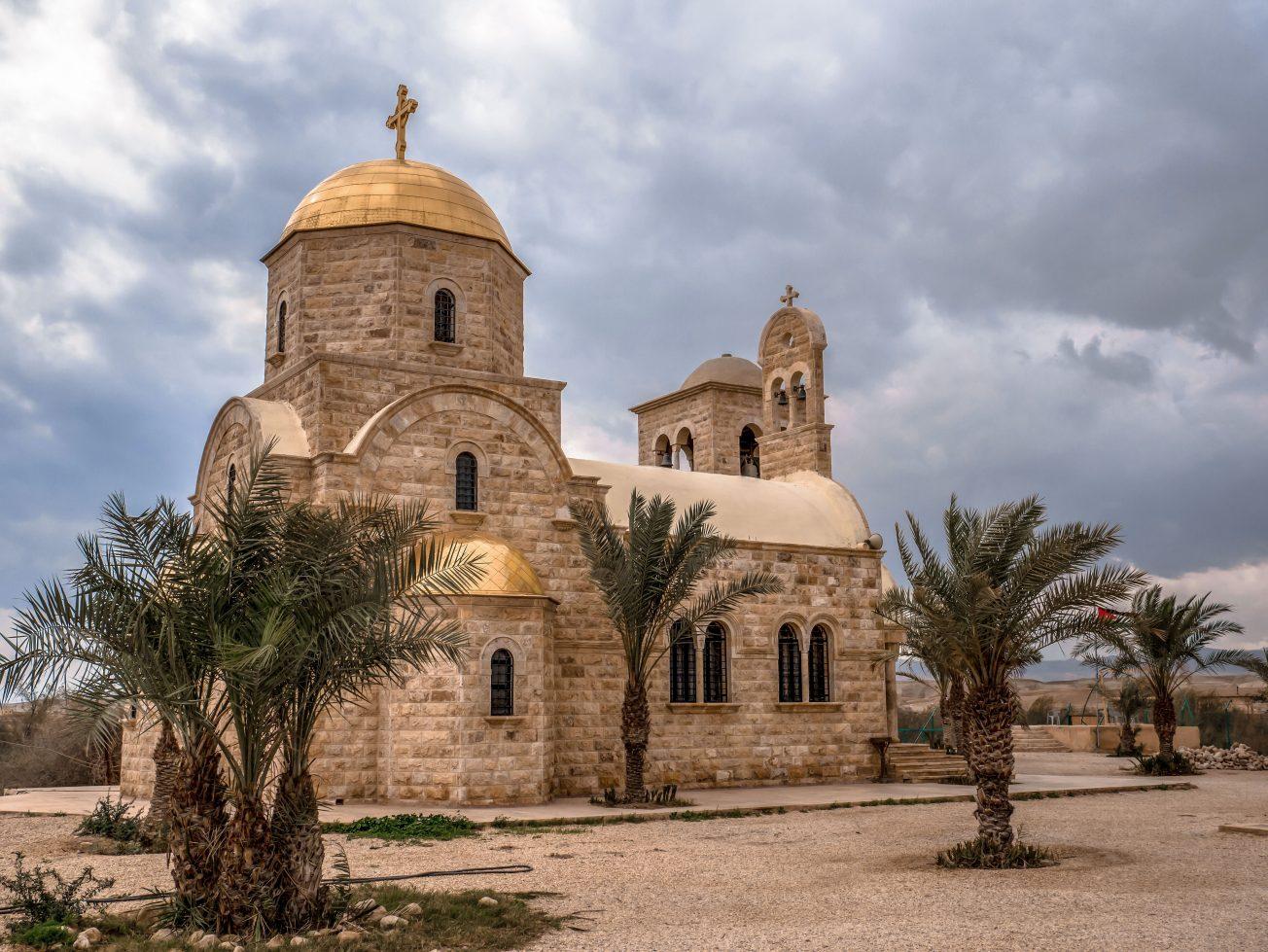 Grécky ortodoxný kostol sv. Jána Krstiteľa pri rieke Jordán