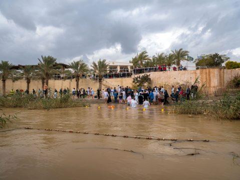 Krst Ježiša Krista v rieke Jordán