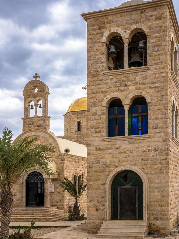 Zvonica a kostol Jordánsko