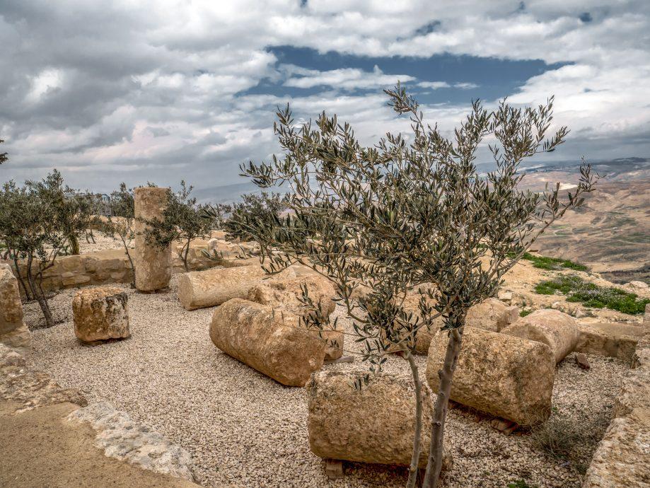 Mount Nebo - krajina - Jordánsko