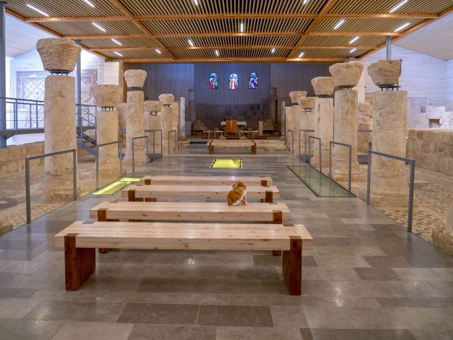 Pamätný kostol Moses, Mount Nebo, Jordánsko
