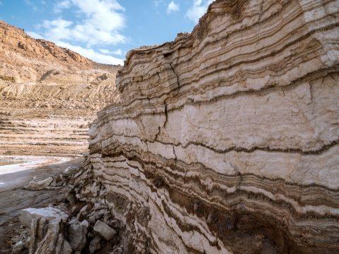 Usadeniny soli pri Mŕtvom mori