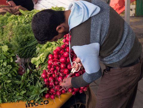 Zeleninový trh v Jordánsku