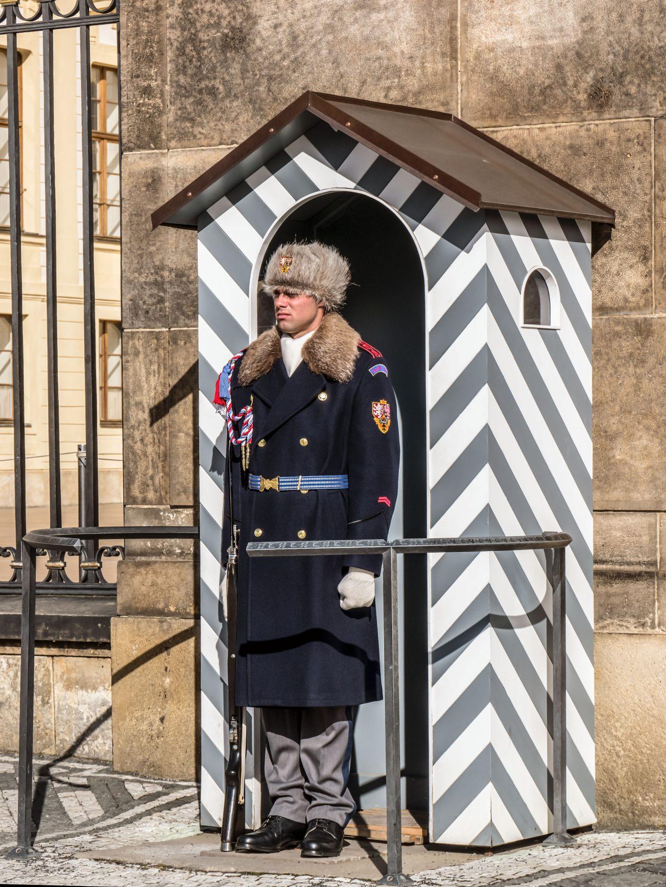 Pražský hrad - Hradná stráž