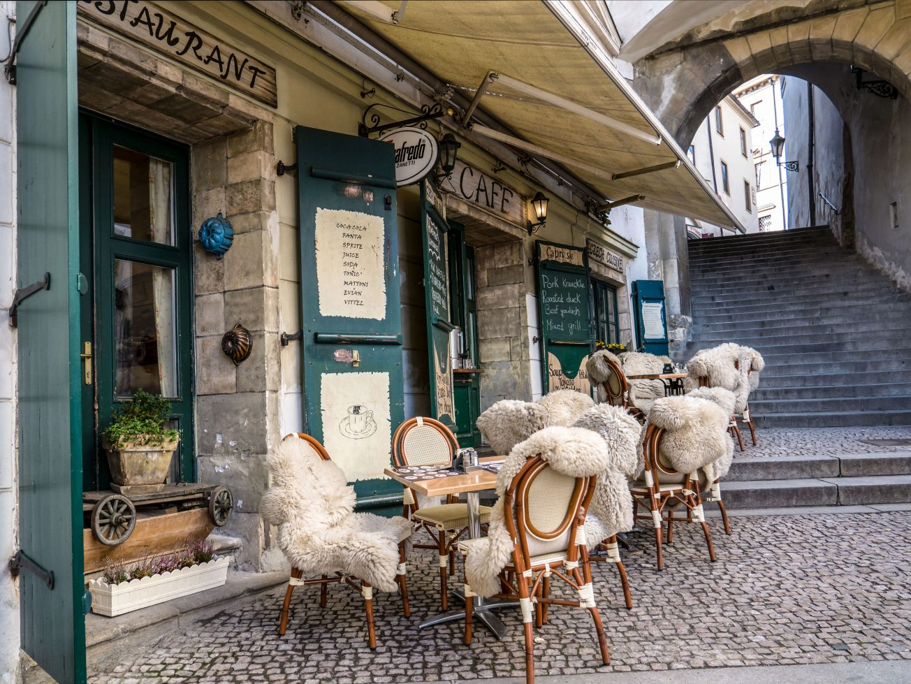 Cafe - restaurant Praha