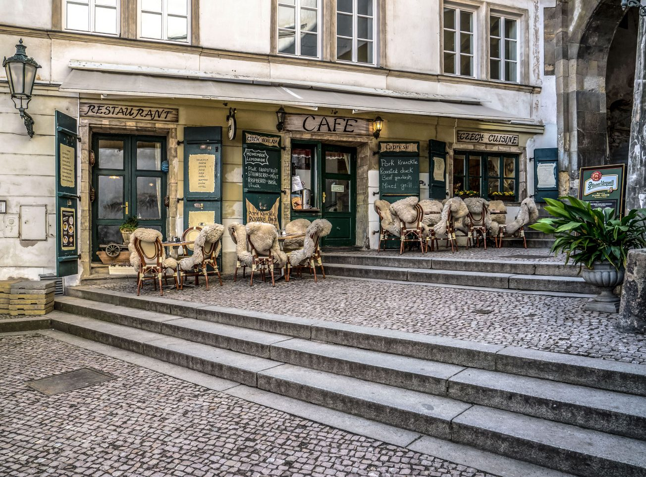 Nostalgická kaviareň Praha