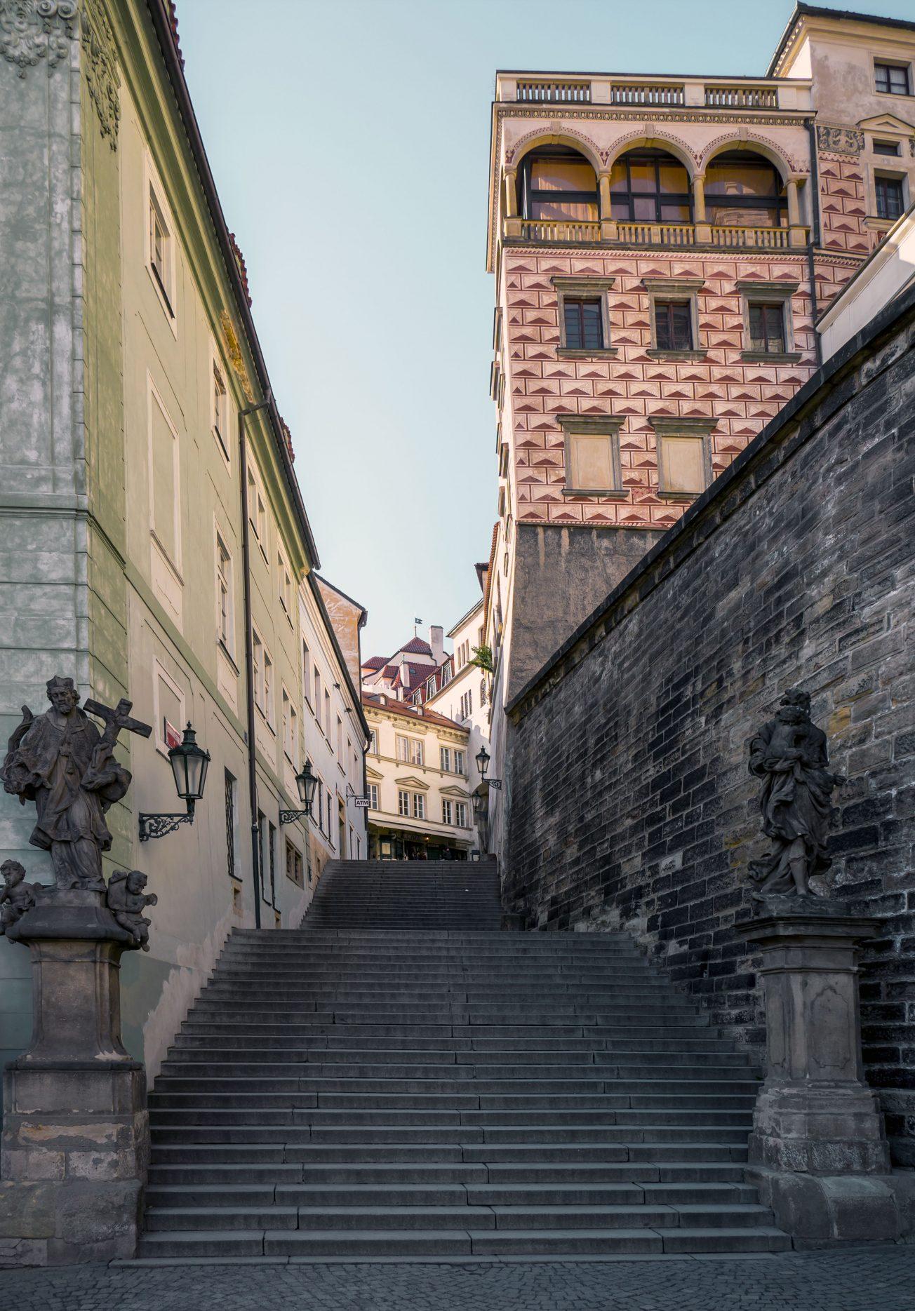 Radnické schody Praha