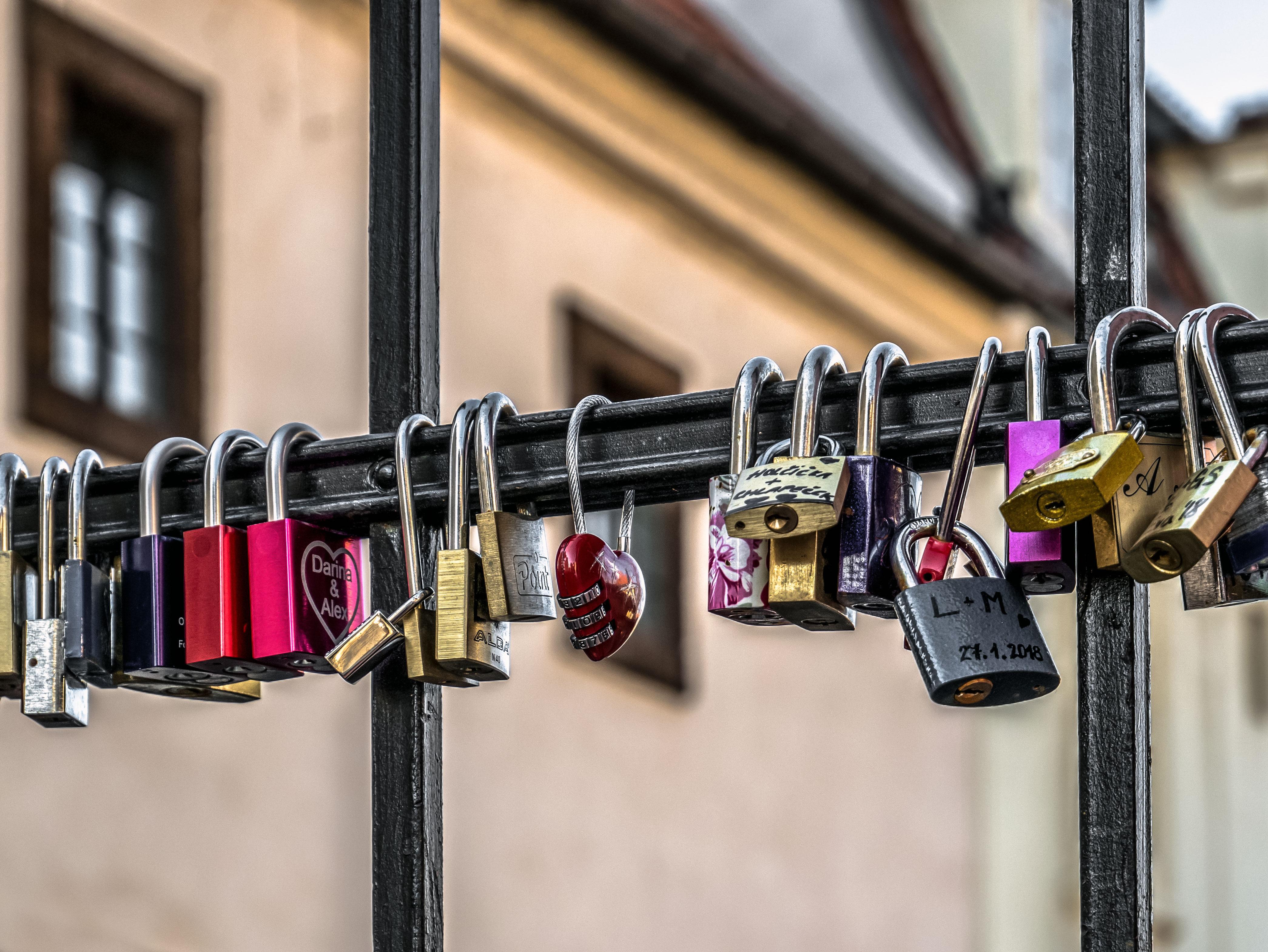 Zámky lásky Praha