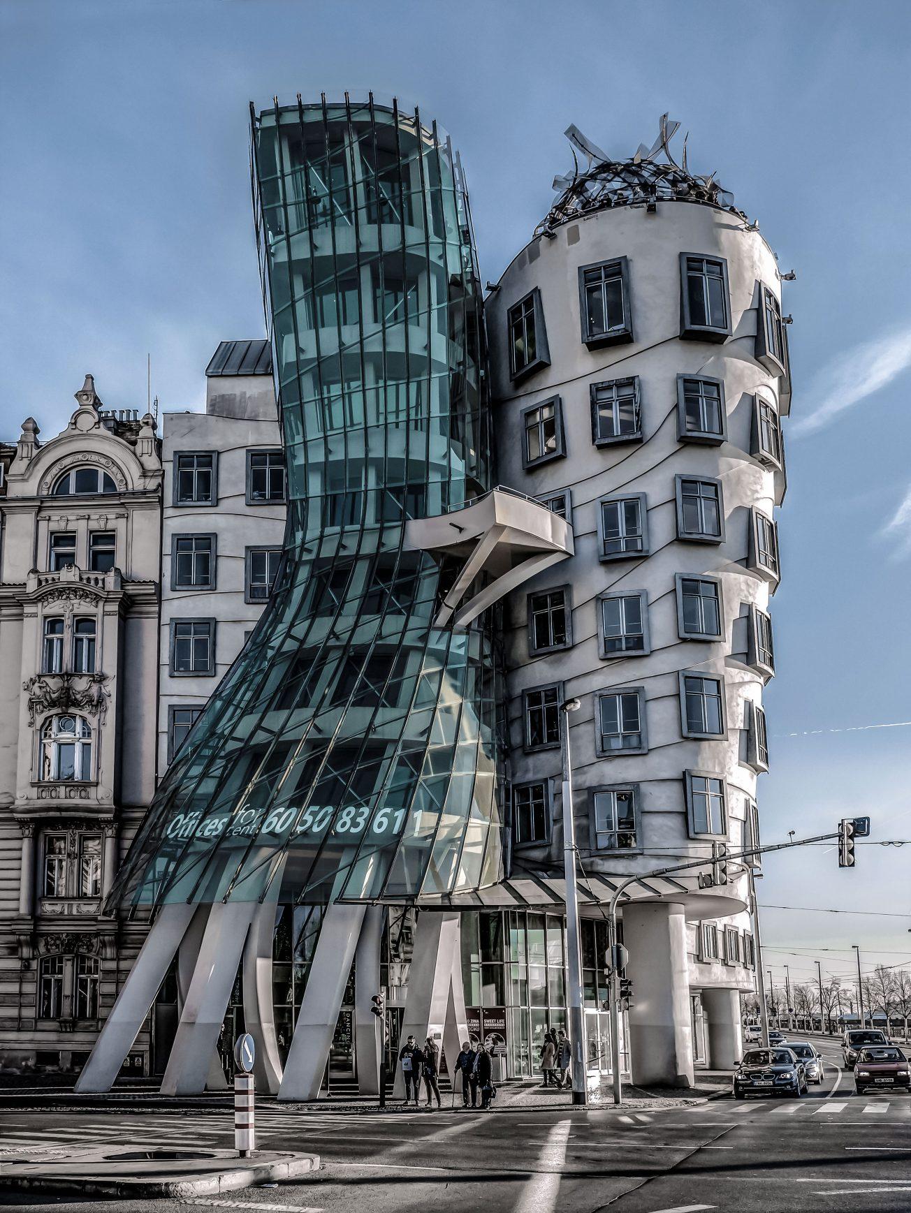 Tancujúci dom Praha