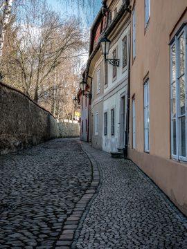 Ulička v Prahe