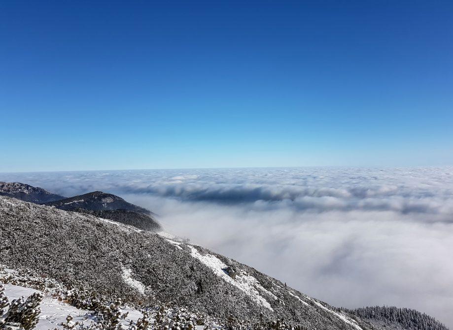 Inverzné počasie v tatrách