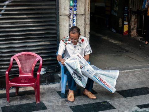 Čítanie novín