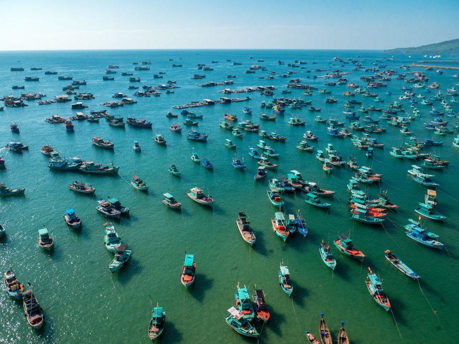 Rybárske lode Vietnam