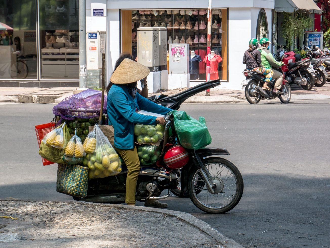Predajca ovocia - Vietnam