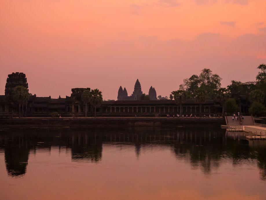 Angkor - chrámový komplex