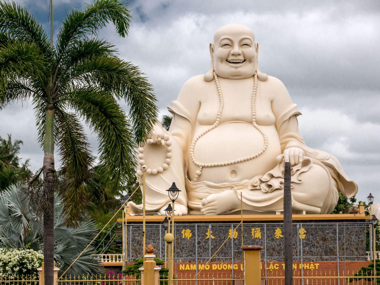 Vinh Trang Pagoda - Buddha