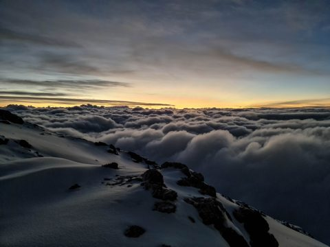 Kilimandžáro svitanie