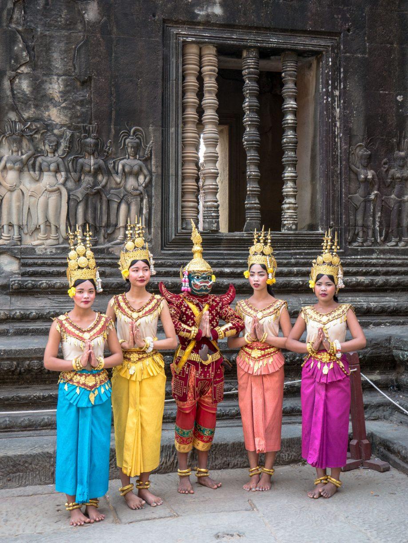 tanečnice Apsara