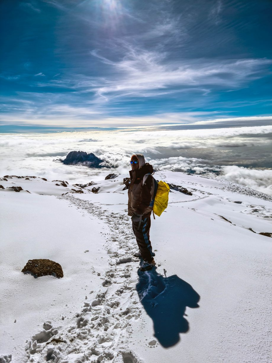 Zostup z Kilimandžára