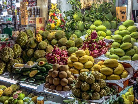 Stánok s ovocím