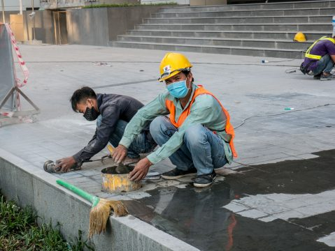 Robotníci Vietnam